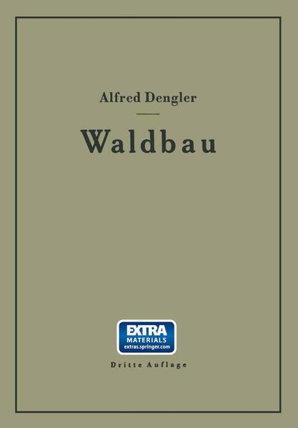 Waldbau auf ökologischer Grundlage Ein Lehr- und Handbuch - Coverbild