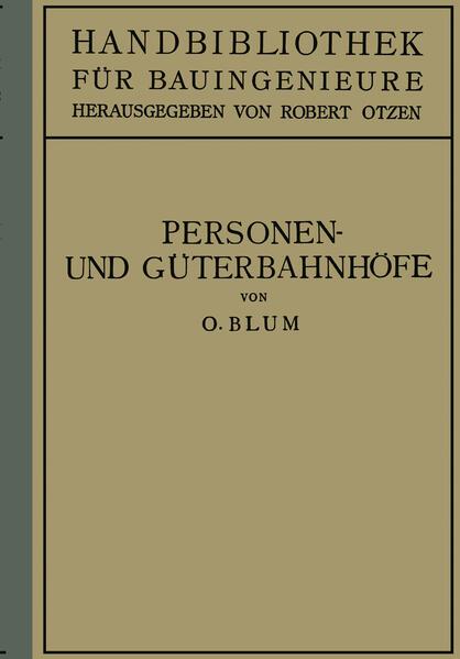 Personen- und Güterbahnhöfe - Coverbild