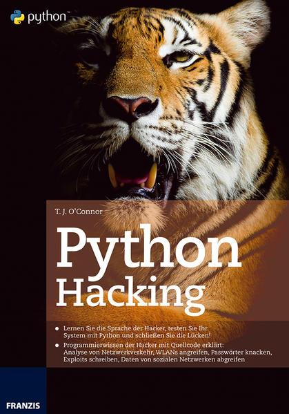 Python Hacking - Coverbild