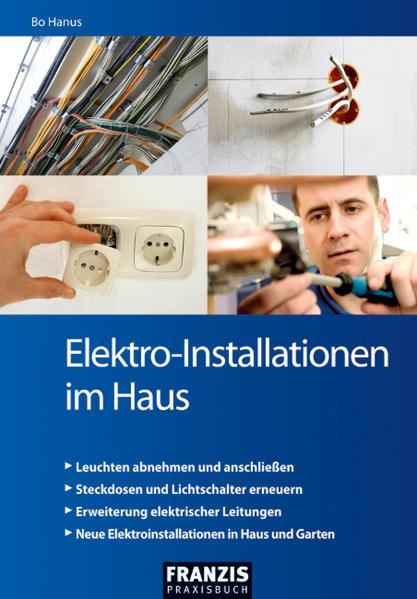 Elektro-Installationen im Haus - Coverbild