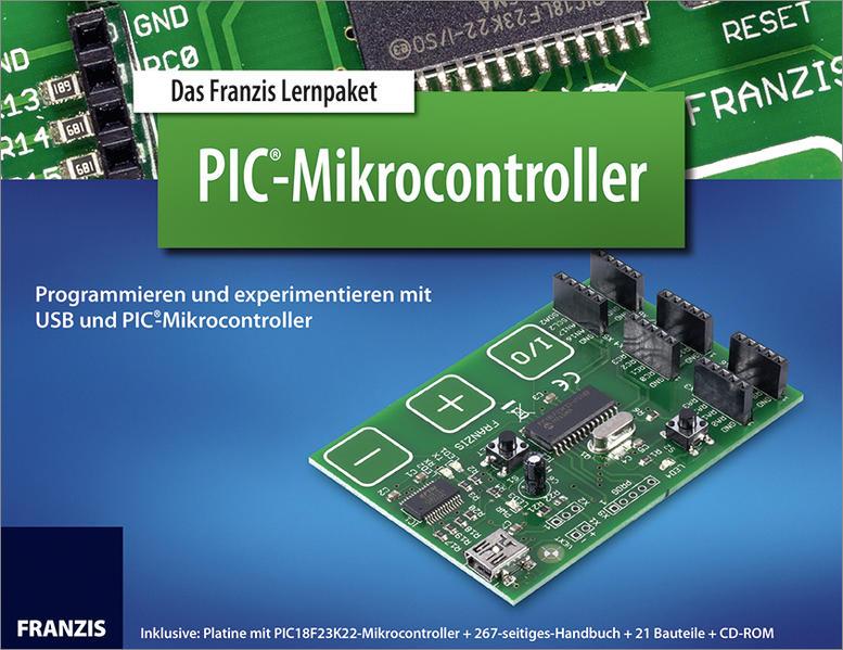 Lernpaket PIC-Mikrocontroller - Coverbild