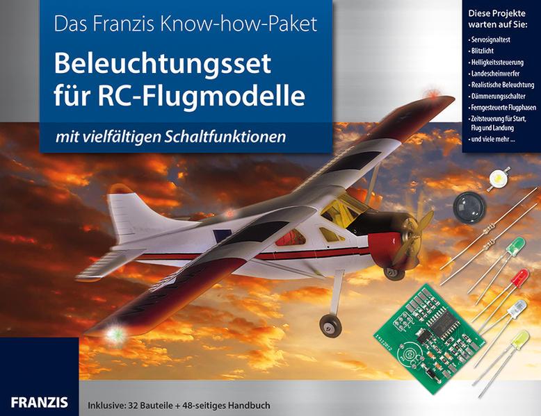 Beleuchtungsset für RC-Flugmodelle - Coverbild