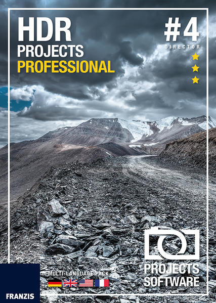 HDR projects professional #4 (Win & Mac) - Coverbild