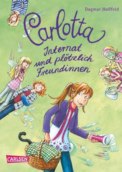 Carlotta, Band 2: Carlotta - Internat und plötzlich Freundinnen - Coverbild