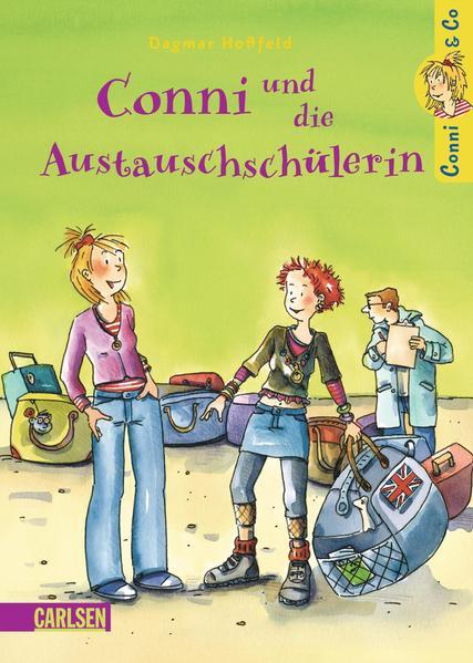 Conni & Co, Band 3: Conni und die Austauschschülerin - Coverbild