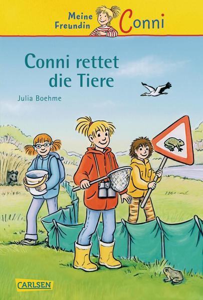 Conni-Erzählbände, Band 17: Conni rettet die Tiere - Coverbild