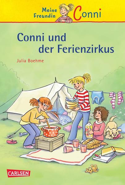 Conni-Erzählbände, Band 19: Conni und der Ferienzirkus - Coverbild