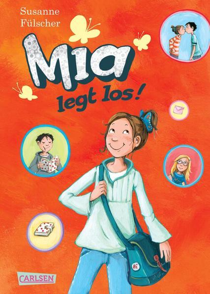Mia, Band 1: Mia legt los! - Coverbild