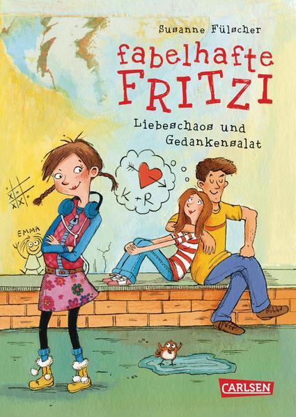 Fabelhafte Fritzi: Fabelhafte Fritzi - Liebeschaos und Gedankensalat - Coverbild
