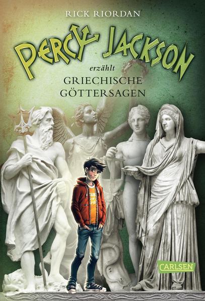 Percy Jackson erzählt: Griechische Göttersagen - Coverbild