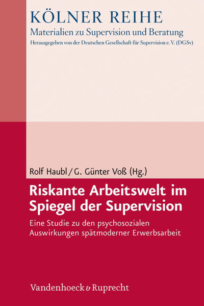 Riskante Arbeitswelt im Spiegel der Supervision - Coverbild