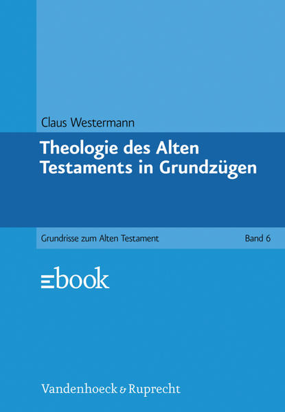 Theologie des Alten Testaments in Grundzügen - Coverbild