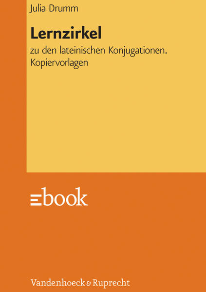 Lernzirkel zu den lateinischen Konjugationen - Coverbild