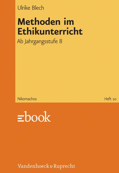 Methoden im Ethikunterricht - Coverbild