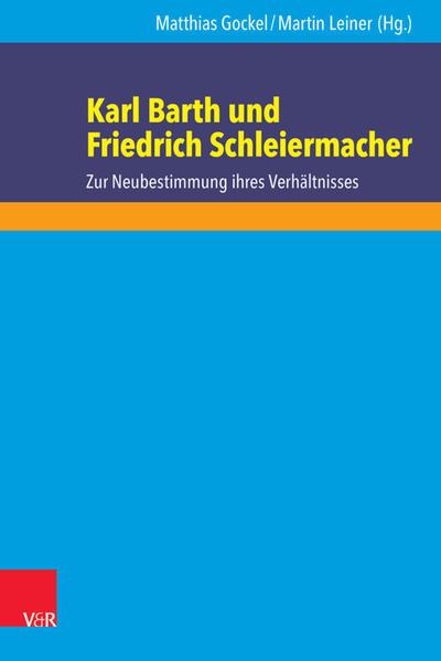 Karl Barth und Friedrich Schleiermacher - Coverbild