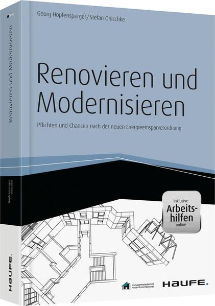 Renovieren und Modernisieren - inkl. Arbeitshilfen online - Coverbild