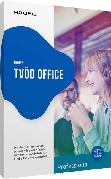 Haufe TVöD Office Professional für die Verwaltung DVD - Coverbild