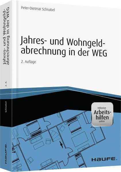 Jahres- und Wohngeldabrechnung in der WEG - inkl. Arbeitshilfen online - Coverbild