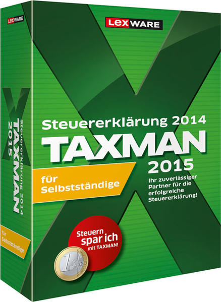 Taxman 2015 für Selbstständige - Coverbild