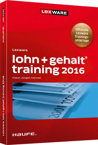 Lexware lohn+gehalt® training 2016 - Coverbild