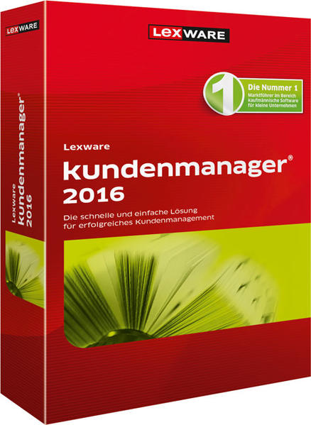 Lexware kundenmanager 2016 - Coverbild