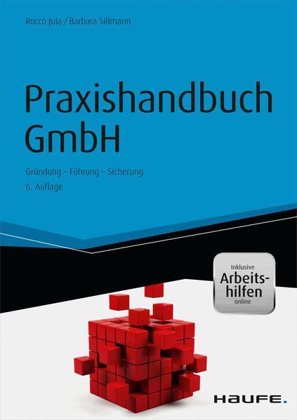 Praxishandbuch GmbH - inkl. Arbeitshilfen online - Coverbild