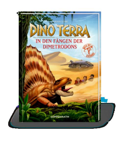 Dino Terra - In den Fängen der Dimetrodons - Coverbild