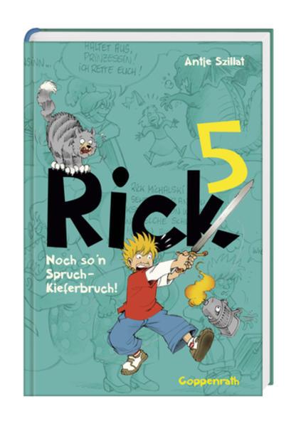Rick - Noch so 'n Spruch - Kieferbruch! - Coverbild