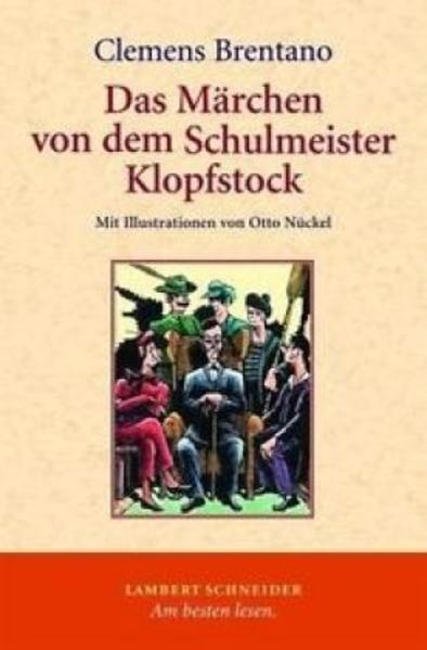 Das Märchen von dem Schulmeister Klopfstock und seinen fünf Söhnen - Coverbild