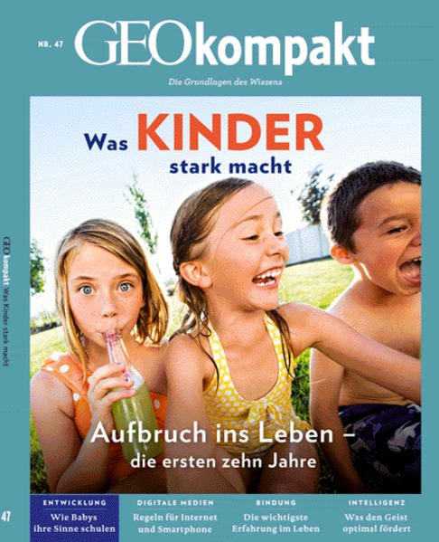 GEO kompakt / GEOkompakt 47/2016 - Kindheit - Coverbild