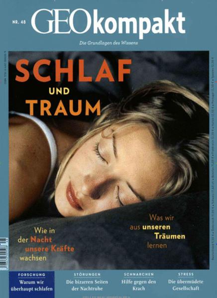 GEO kompakt / GEOkompakt 48/2016 - Schlaf und Traum - Coverbild