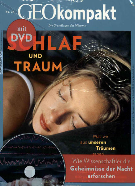 GEO kompakt / GEOkompakt mit DVD 48/2016 - Schlaf und Traum - Coverbild