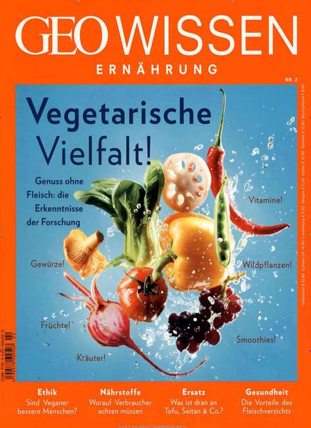 GEO Wissen / GEO Wissen Ernährung mit DVD 02/16 - Coverbild