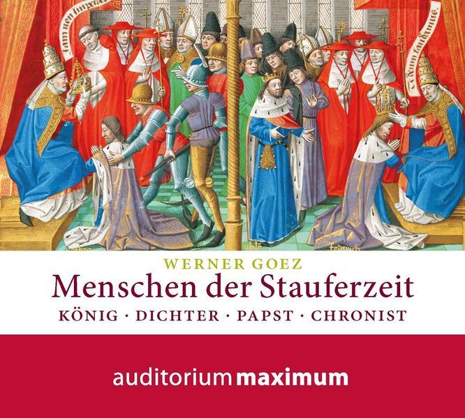 Menschen der Stauferzeit - Coverbild