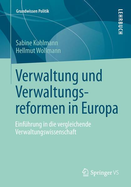 Verwaltung und Verwaltungsreformen in Europa - Coverbild