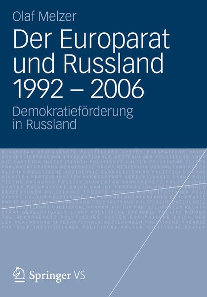Der Europarat und Russland 1992 – 2006 - Coverbild