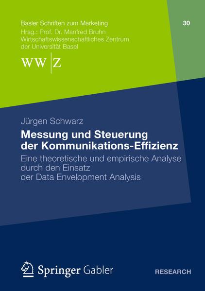 Messung und Steuerung der Kommunikations-Effizienz - Coverbild