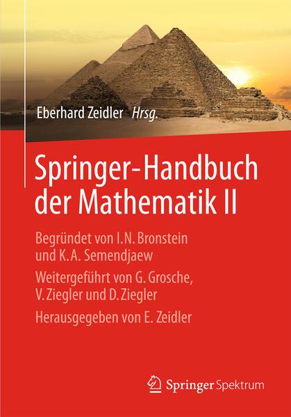 Springer-Handbuch der Mathematik II - Coverbild