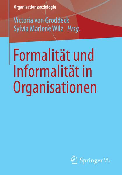 Formalität und Informalität in Organisationen - Coverbild