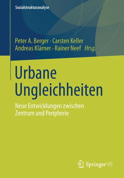 Urbane Ungleichheiten - Coverbild