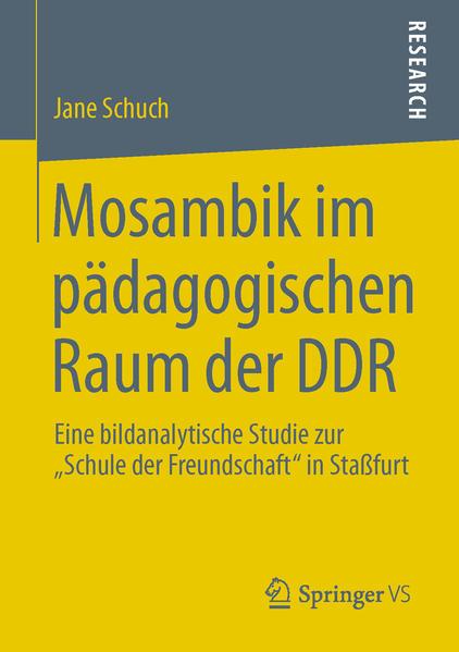 Mosambik im pädagogischen Raum der DDR - Coverbild