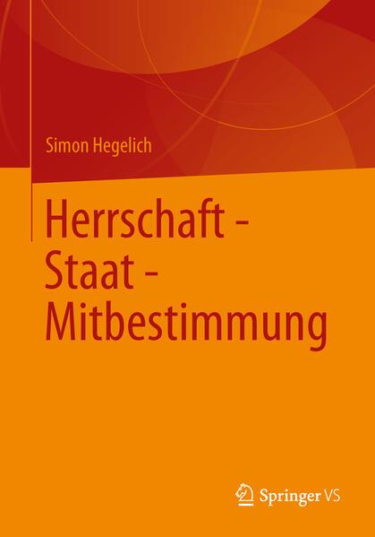 Herrschaft - Staat - Mitbestimmung - Coverbild