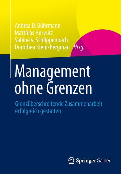 Management ohne Grenzen - Coverbild