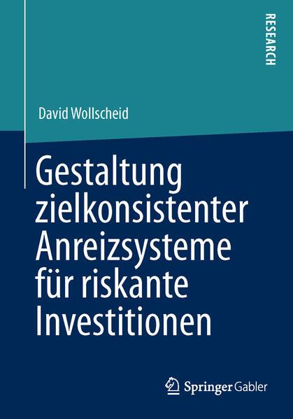 Gestaltung zielkonsistenter Anreizsysteme für riskante Investitionen - Coverbild