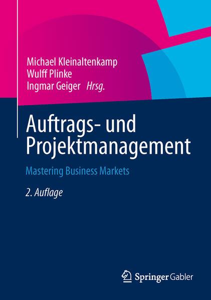 Auftrags- und Projektmanagement - Coverbild