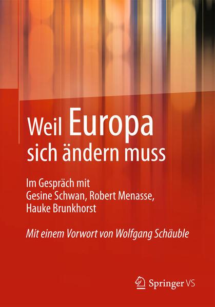 Weil Europa sich ändern muss - Coverbild