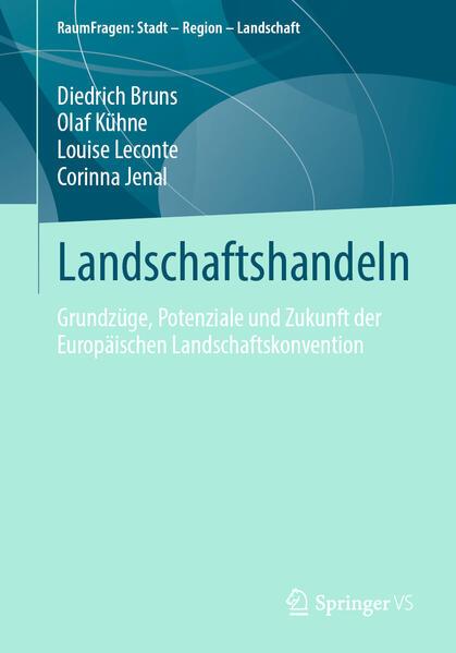 Landschaft im politischen Diskurs - Coverbild