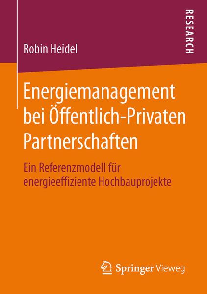 Energiemanagement bei Öffentlich-Privaten Partnerschaften - Coverbild