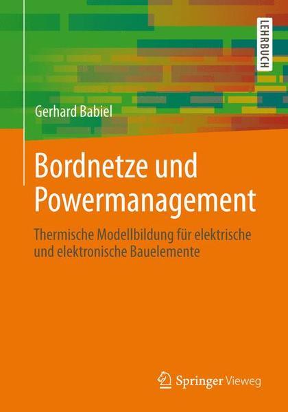 Bordnetze und Powermanagement - Coverbild