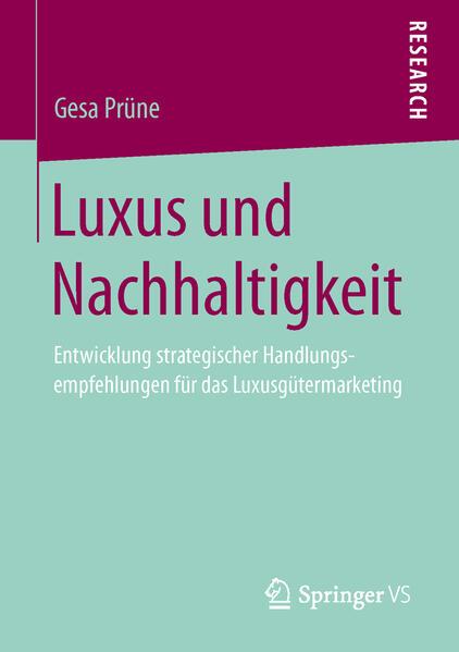 Luxus und Nachhaltigkeit - Coverbild